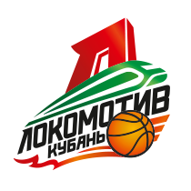 Logo of Lokomotiv-Kuban, russian, white background